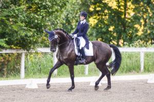 Siobhan Byrne riding Wachenheim